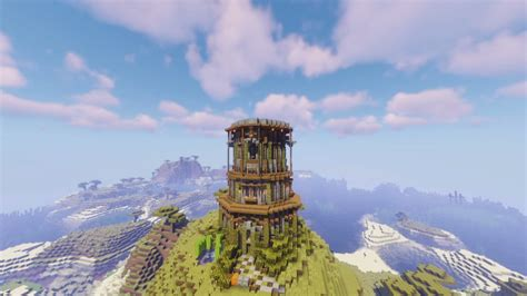 minecraft tower designs reach   stars   guide    tower builds