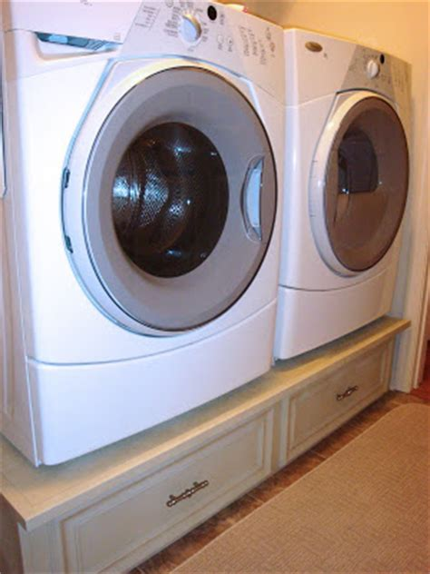 The Penny Parlor Diy Washer Dryer Pedestal A Laundry