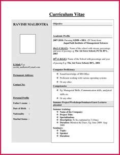 Make A Resume Now by Contoh Resume Bahasa Melayu Resume Kerja Swasta Resume