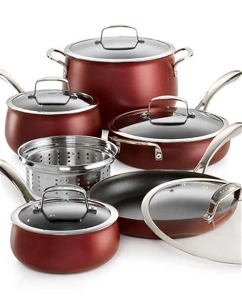 belgique  pc aluminum cookware set   macys cookware sets kitchen macys