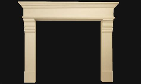 Camden  Zohostone Fireplace Mantels