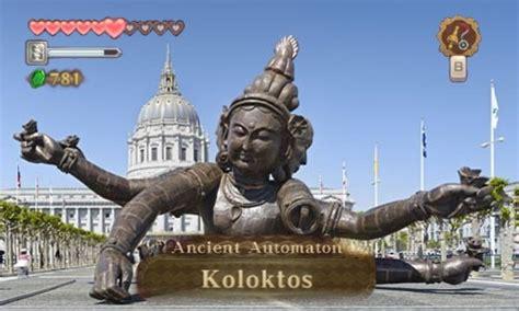 Zelda Skyward Sword In Real Life Koloktos Boss The