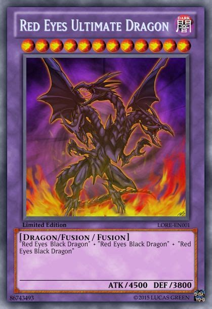 red eyes ultimate dragon yu gi oh cards pinterest