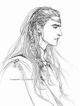 Thingol Evankart Thranduil Elf Elu Deviantart Lotr Lord Rings Elves Tolkien Earth Hobbit Legolas Middle King Coloring Bard Pages Jrr sketch template
