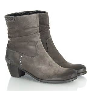 womens boots uk lewis k s grey 21 35110 s studded ankle boot