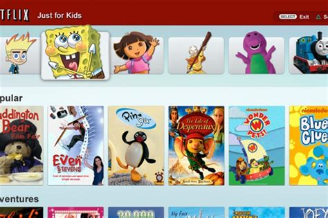 """Parents' Guide To Netflix """"just For Kids"""""""