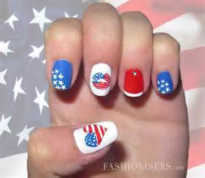Fourth of july nail art designs best celebrity style