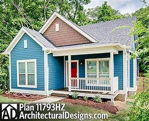 Plan 11793hz 3 bed cottage with porches front and back for Cottage house plans with back porches