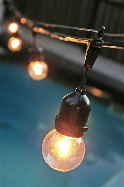 how to string lights outside perfect description how to hang globe lights globe