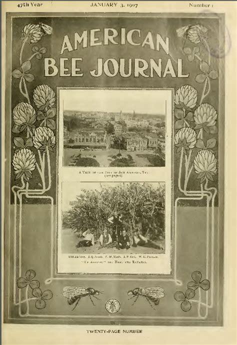 american bee journal classic honey bee care journal
