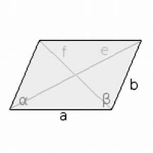Diagonale Berechnen Online : parallelogramm geometrie rechner ~ Themetempest.com Abrechnung