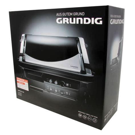 Grundig Contact Grill Homeware   TheHut.com