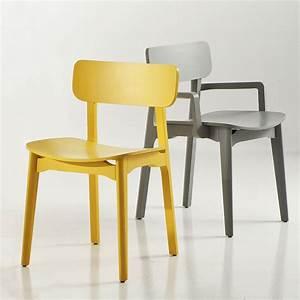 Cacao Sedia di design Chairs&More, in legno, disponibile in diversi colori, con o senza