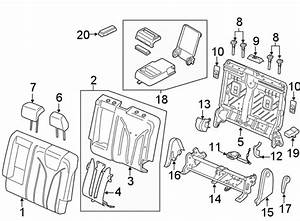 Lincoln Mkx Seat Hinge Cover  Driver Side  Seat Back