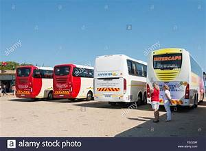 Tour buses at Funicular station to Cape Point, Cape of ...