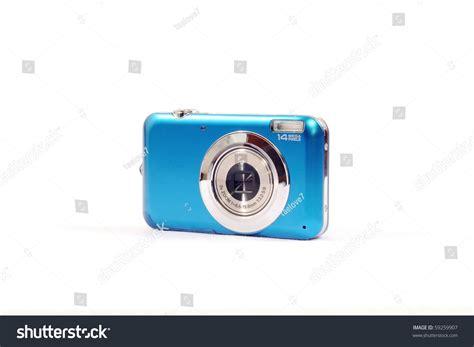 Blue Digital Camera Stock Photo 59259907 Shutterstock