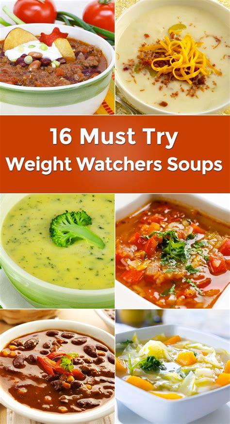weight watchers soups weight watchers