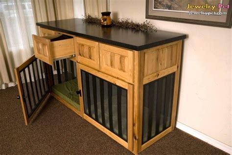 dog crates    furniture build dog crate