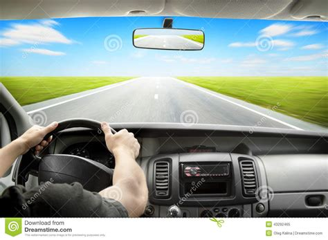 driving stock photo image