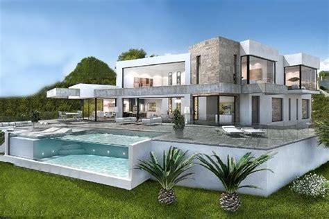Moderne Häuser Am Meer by Moraira Villen In Moraira Kaufen