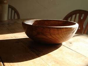 Hand Turned Wooden Bowl - Natural Simplicity