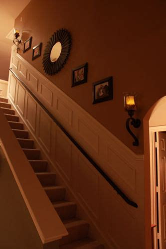 stairwell sconce best 25 stairway wall decorating ideas on