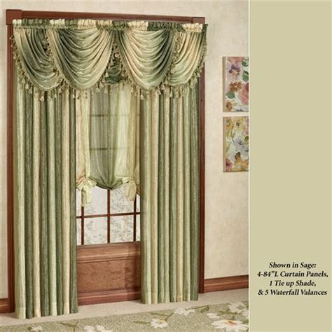 Ombre SemiSheer Scarf Valance and Window Treatments