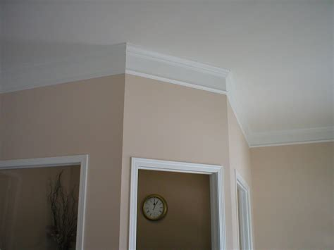 effigy of flat crown molding adds audacious luxury for