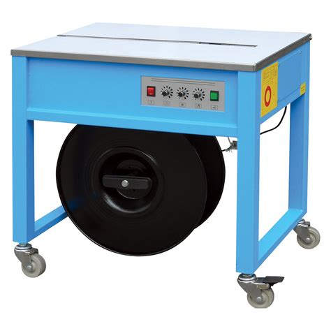 product wel bilt semi automatic high table strapping machine  inh adjustable steel
