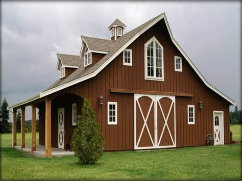 Barn House Plans Horse Barn Style Houses, Shed Style House