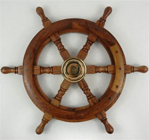 Old Boat Steering Wheel For Sale by Ships Wheel 18in