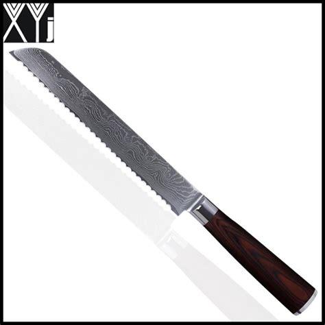 highest kitchen knives xyj damascus knives 8 inch bread knife kitchen knives vg10