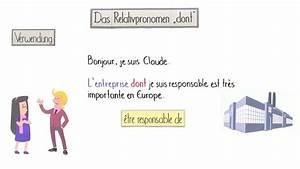 Ich Möchte Französisch : wie verwende ich das relativpronomen dont franz sisch online lernen ~ Eleganceandgraceweddings.com Haus und Dekorationen