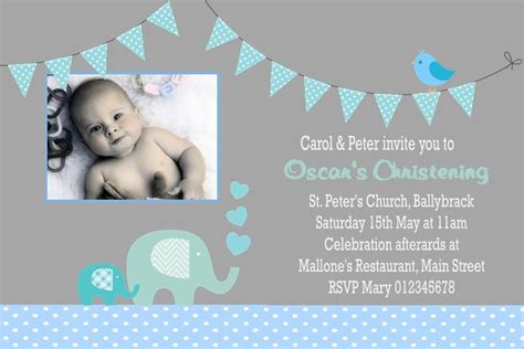 Invitation For Christening Boy Images  Invitation Sample