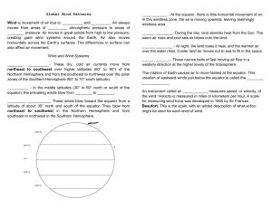 what causes climate worksheet p