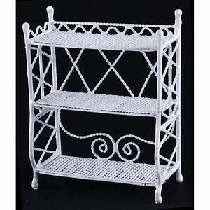 Petite Etagere Metal : petite etagere metal couleur blanche ~ Teatrodelosmanantiales.com Idées de Décoration