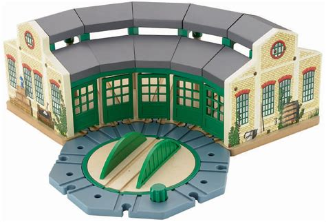 Tidmouth Sheds Wooden Turntable by The Tank Engine Y4367 Roundhouse Tidmouth Shed