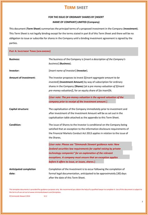 founders agreement template business template simple