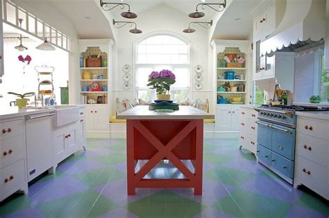 cuisine sympa maison de vacances à la déco intérieure éclectique