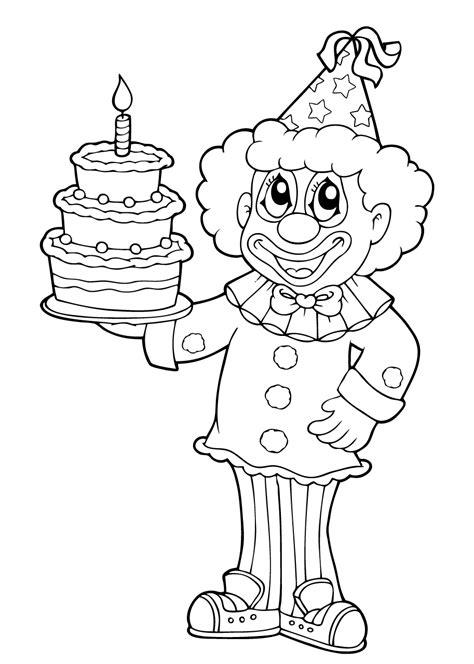 Kleurplaat Clown Met Ballonnen by Kleurplaat Feest 29 Kleurplaten Voor Tijdens Een Kinderfeest