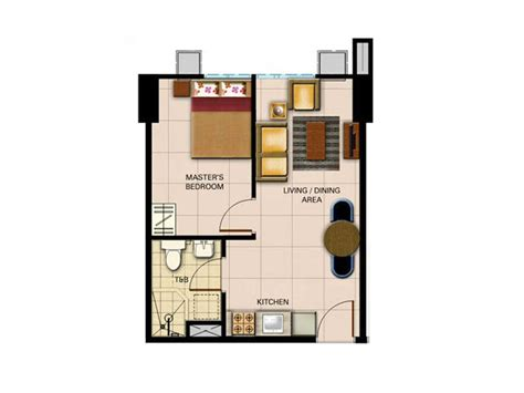1 Bedroom Unit Rental by Avida Towers Centera Condominium At Mandaluyong Ownmoko