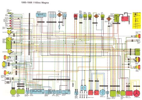 wire a magna v4musclebike