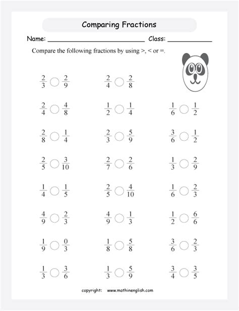 All Worksheets » Comparing Fractions Worksheets  Printable Worksheets Guide For Children And