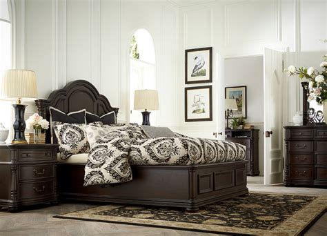 havertys furniture traditional bedroom  metro