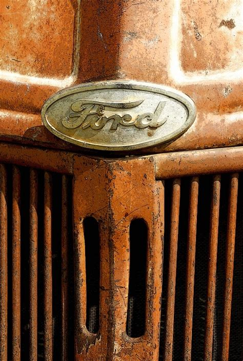 Old Abandoned Ford