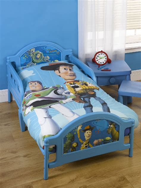 buzz lightyear story junior toddler bed bennetts direct ltd