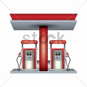 Petrol station Vector Image - 1944305 | StockUnlimited