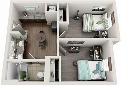 Suite Bedroom Bedrooms Dorm Floor Plans Suites