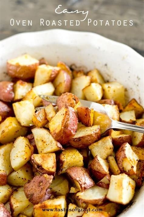 easy potatoe recipe oven roasted potatoes redhead can decorate