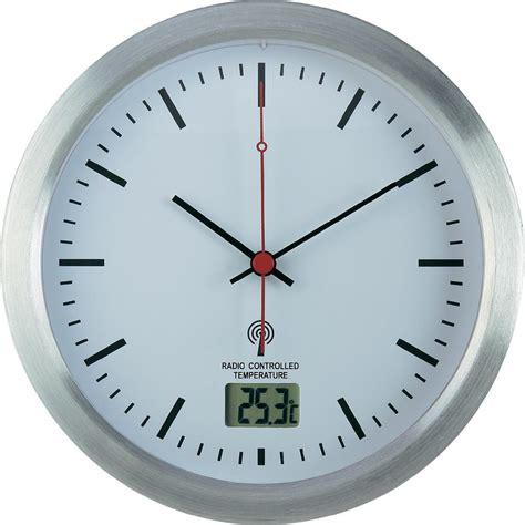 horloge murale radiopilot 233 e renkforce e1003r argent 17